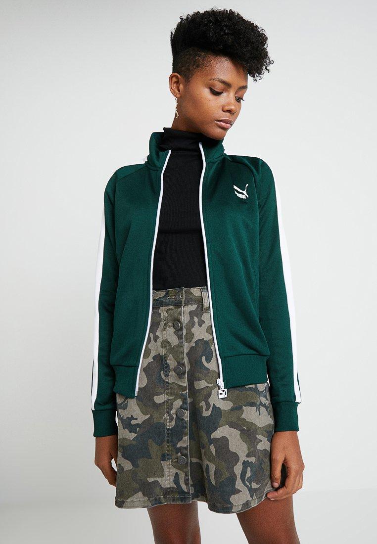 Puma - CLASSICS TRACK - Training jacket - ponderosa pine