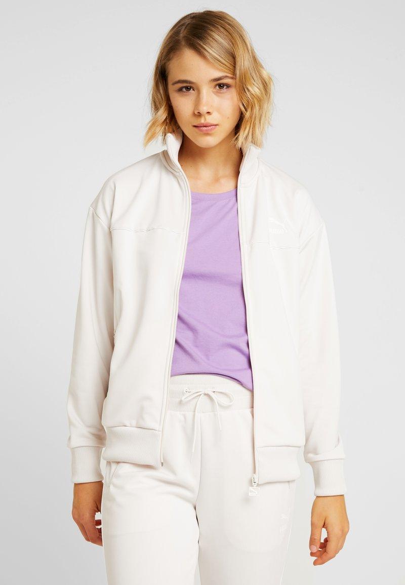 Puma - CLASSICS POLY TRACK  - Training jacket - pastel parchment