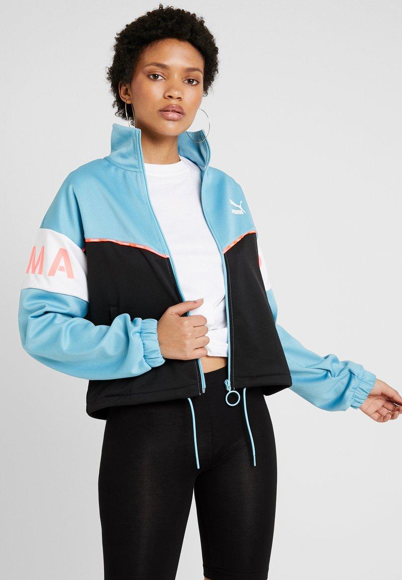 Puma - TRACK - Training jacket - milky blue