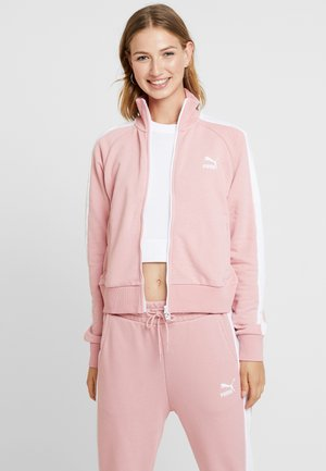 CLASSICS TRACK - Zip-up hoodie - bridal rose