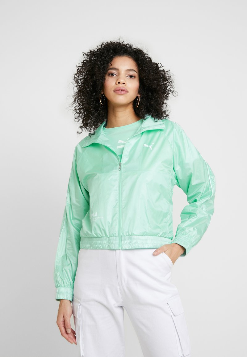 Puma - EVIDE JACKET - Impermeable - mist green