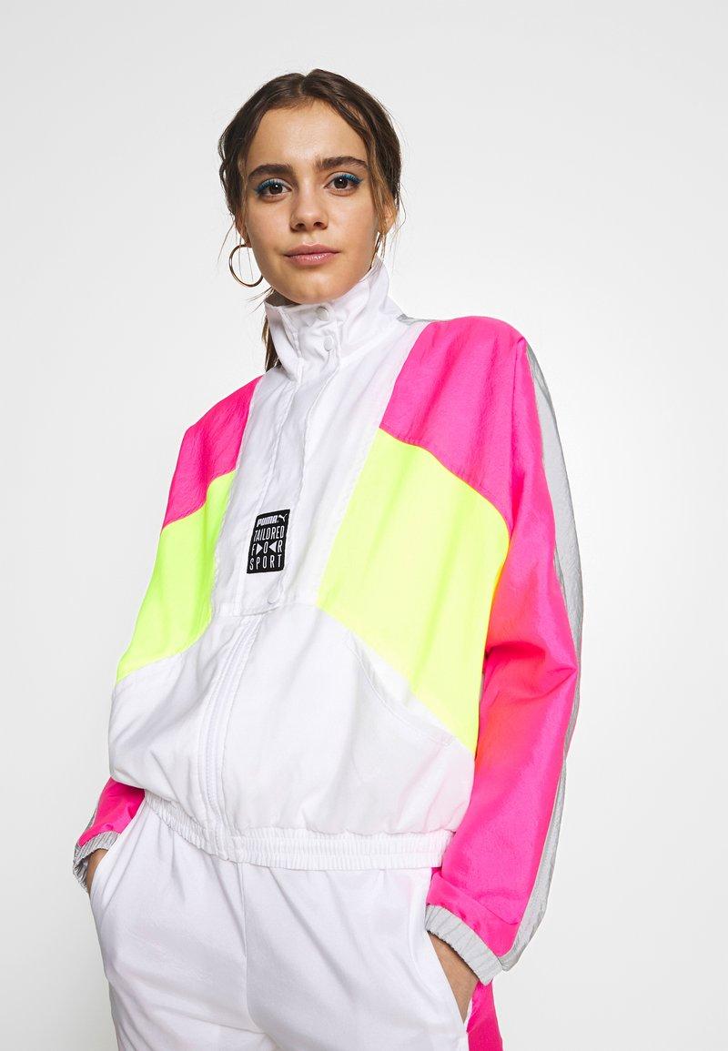 Puma - RETRO TRACK JACKET - Training jacket - white