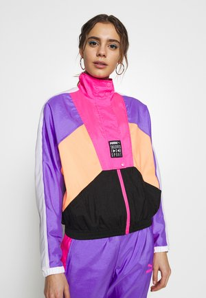 RETRO TRACK JACKET - Trainingsjacke - fluo pink
