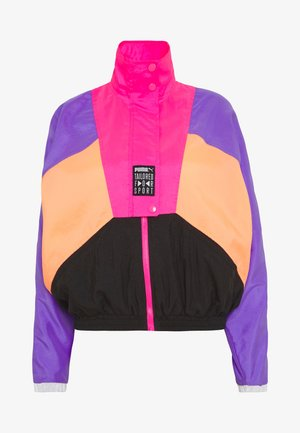 RETRO TRACK JACKET - Giacca sportiva - fluo pink