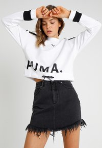 Puma - CHASE CREW - Long sleeved top - white - 0