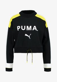 Puma - CHASE CREW - Long sleeved top - black - 4