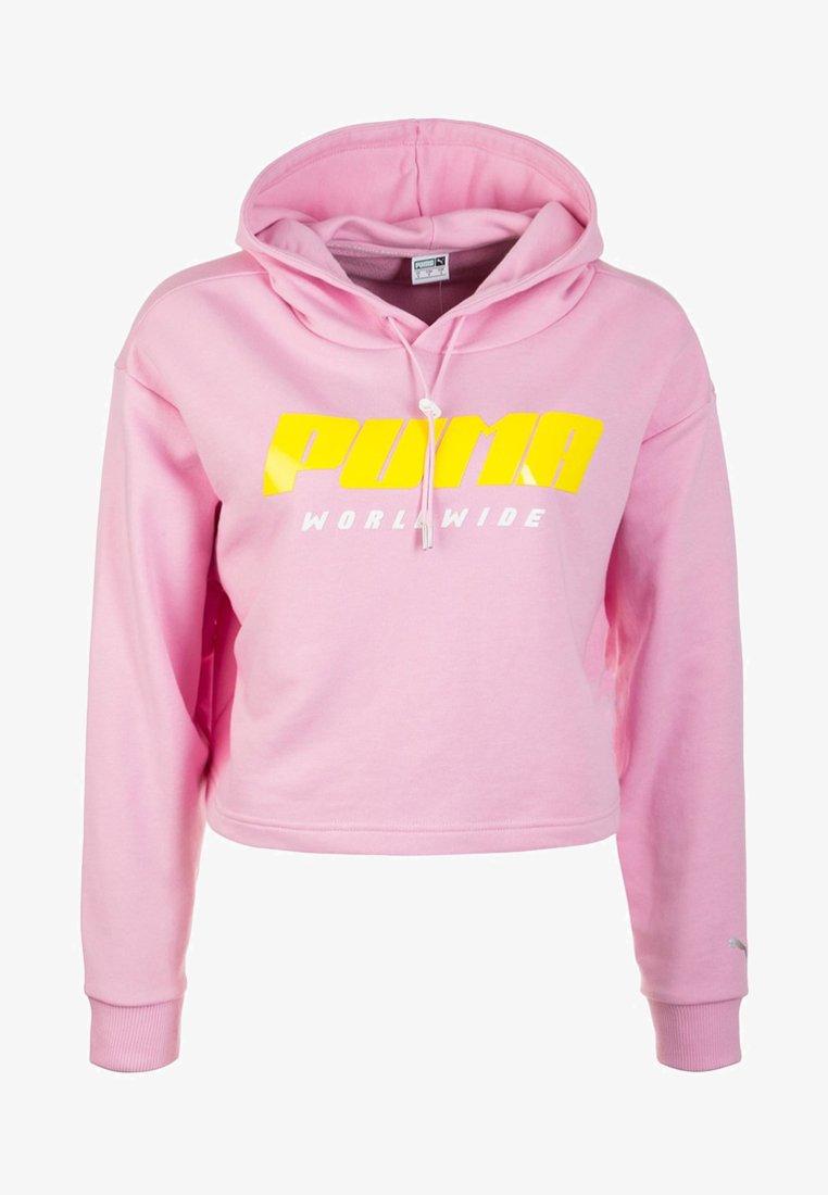Puma - TZ  - Kapuzenpullover - pale pink