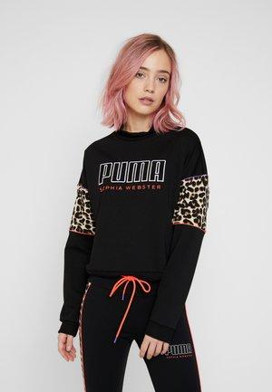 PUMA X SW CREW - Sweatshirt - black