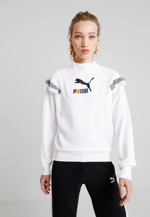TYAKASHA TURTLENECK - Sweatshirt - white