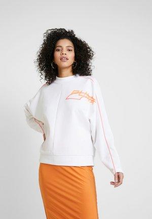 EVIDE CREW - Sweatshirt - white