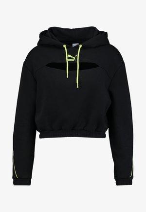 HOODIE - Felpa con cappuccio - black