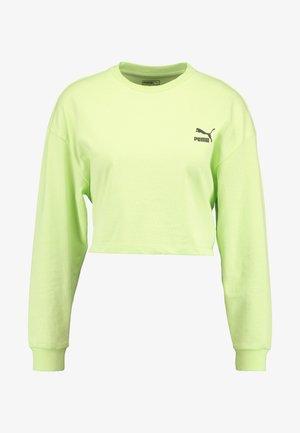 CREW - Langarmshirt - sharp green