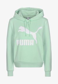Puma - Sweat à capuche - mist green - 0