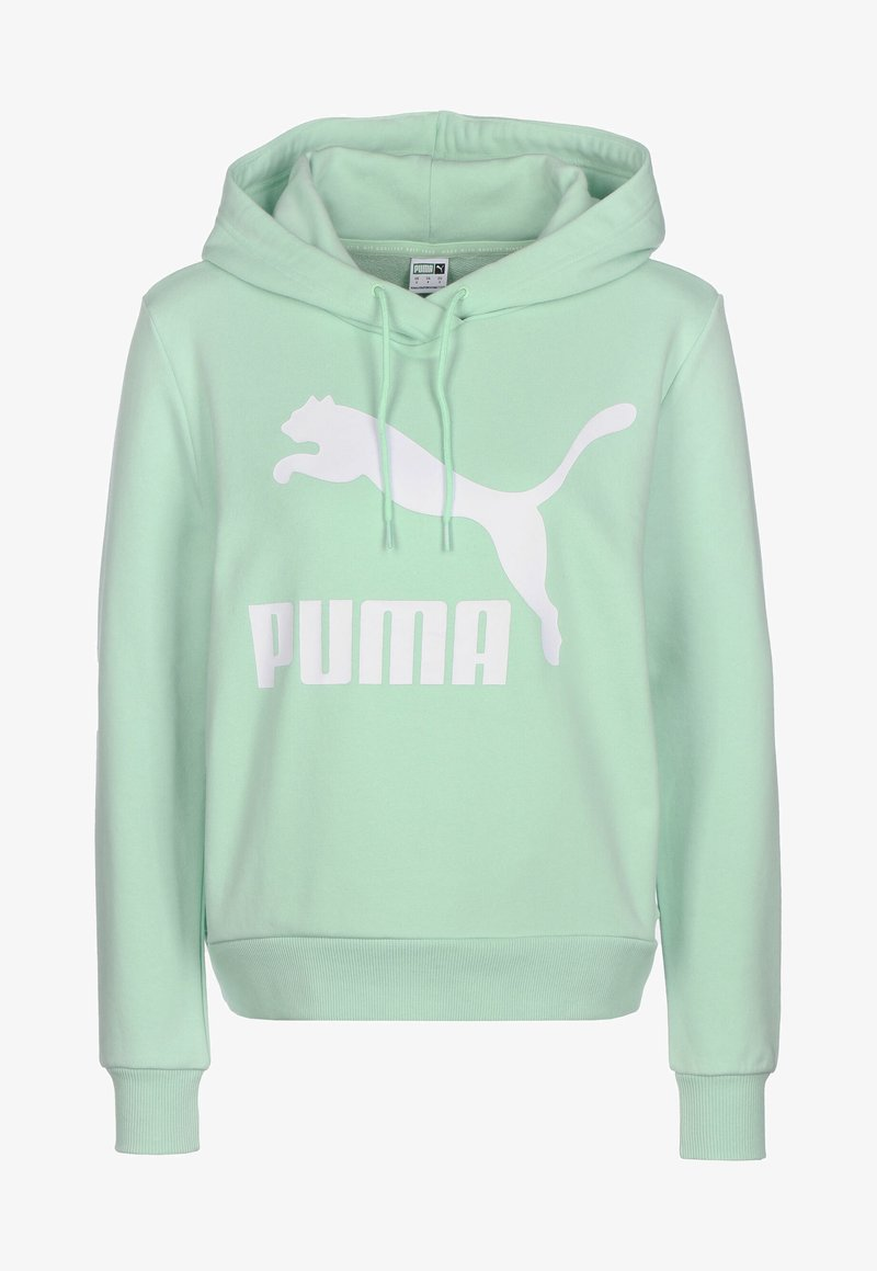 Puma - Sweat à capuche - mist green