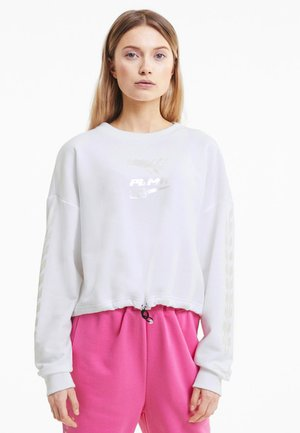 EVIDE CREW - Sweater -  white