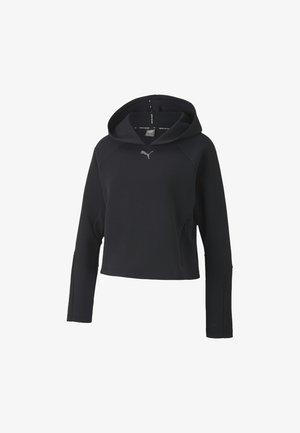 EVOSTRIPE - Felpa con cappuccio - puma black