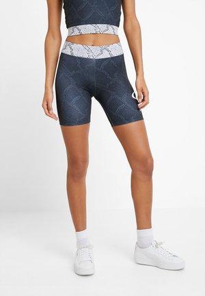 SNAKE PACK BIKER - Shorts - black