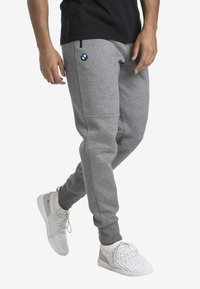 Puma - MOTOR - Träningsbyxor - medium gray heather - 0