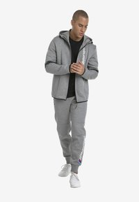 Puma - MOTOR - Träningsbyxor - medium gray heather - 1