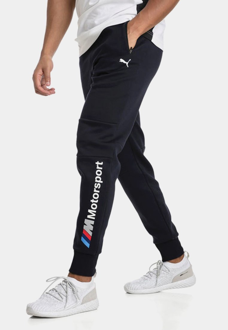 Puma - MOTOR - Tracksuit bottoms - blue