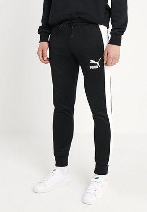 ICONIC TRACK PANTS - Pantalon de survêtement - black