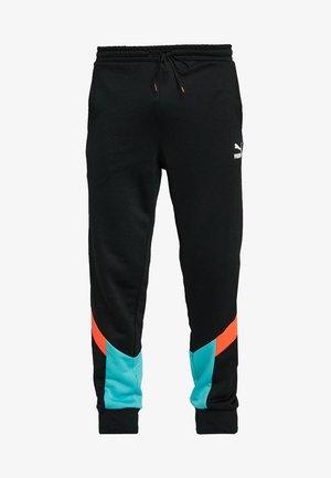 ICONIC TRACK PANT CUFF - Pantalon de survêtement - black
