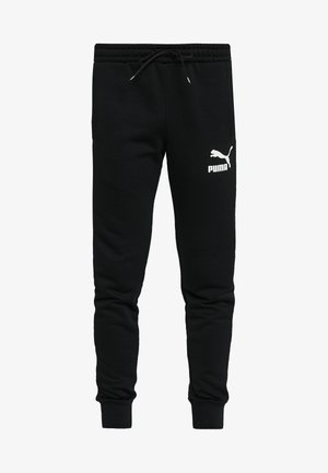 ICONIC TRACK PANT CUFF - Pantalon de survêtement - black