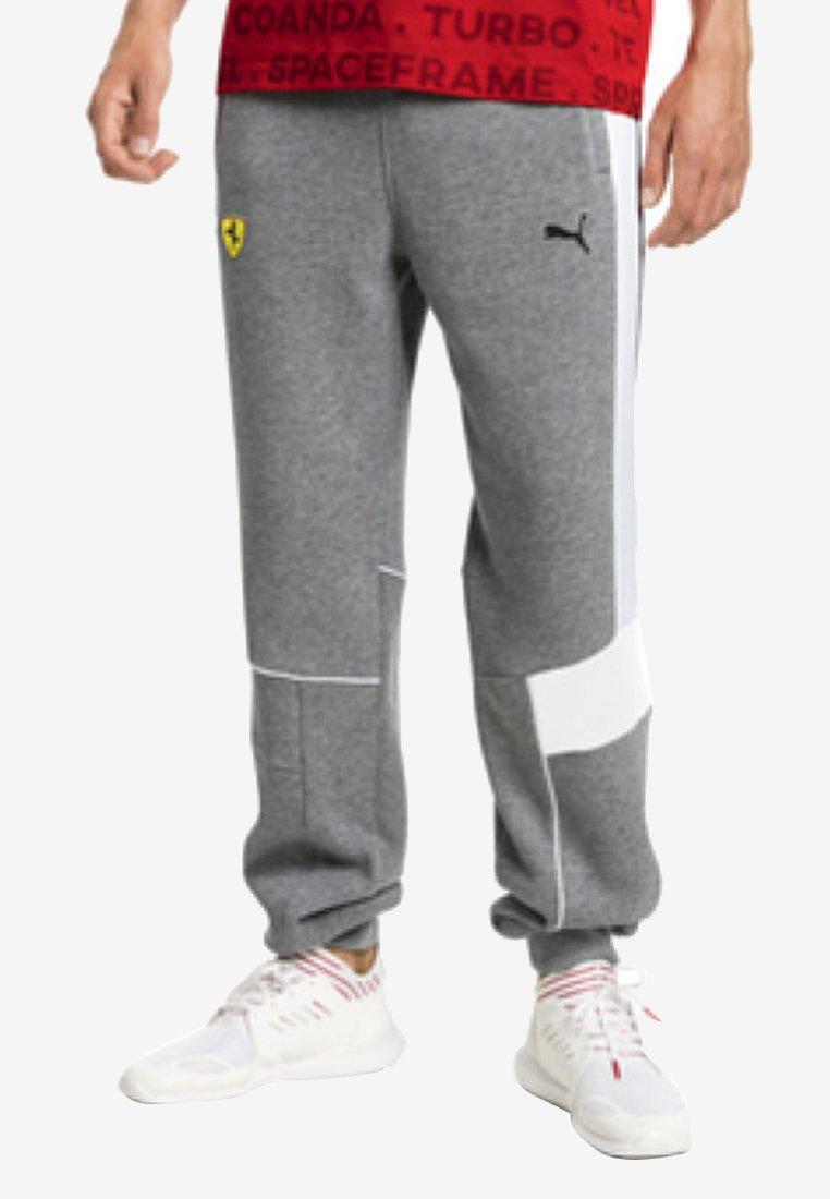 Puma - FERRARI - Pantaloni sportivi - medium gray heather