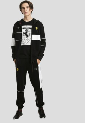 FERRARI - Tracksuit bottoms -  black