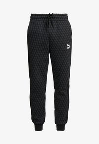 Puma - LUXE PACK TRACK PANTS - Träningsbyxor - black - 4