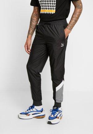 TREND PANTS - Pantalon de survêtement - black/houndstooth