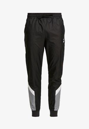 TREND PANTS - Pantaloni sportivi - black/houndstooth