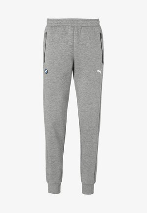BMW M MOTORSPORT KNITTED MEN'S SWEATPANTS MALE - Pantalon de survêtement - medium gray heather