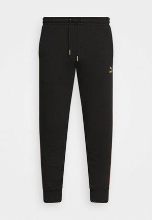 WORLDHOOD TRACK PANTS - Tracksuit bottoms - black