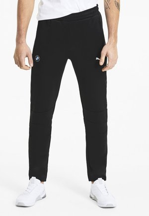 PUMA BMW M MOTORSPORT T7 MEN'S KNITTED TRACK PANTS MALE - Tracksuit bottoms - puma black