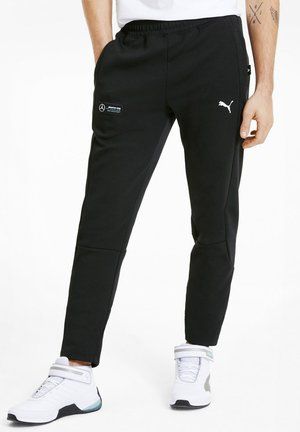 PUMA MEN'S SWEATPANTS HOMMES - Tracksuit bottoms -  black