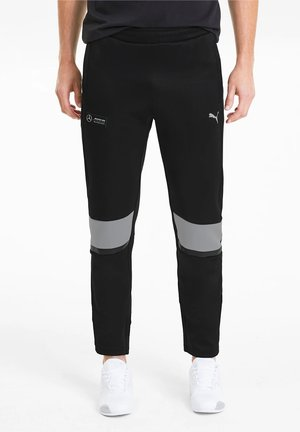 T7 KNITTED MEN'S SWEATPANTS MAN - Pantalon de survêtement - black