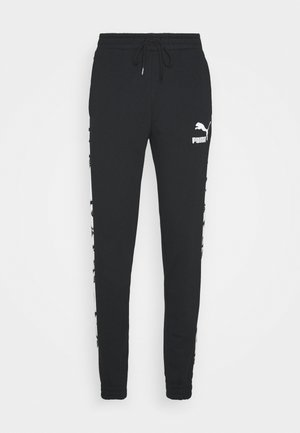 TRACK PANTS - Verryttelyhousut - black