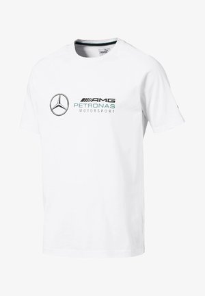 AMG PETRONAS - T-shirts print - puma white