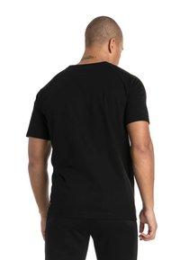 Puma - AMG PETRONAS - T-shirt con stampa - black - 2