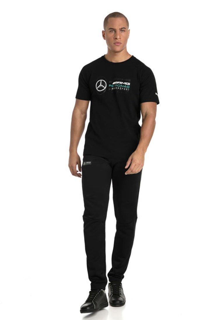 Puma - AMG PETRONAS - T-shirt con stampa - black
