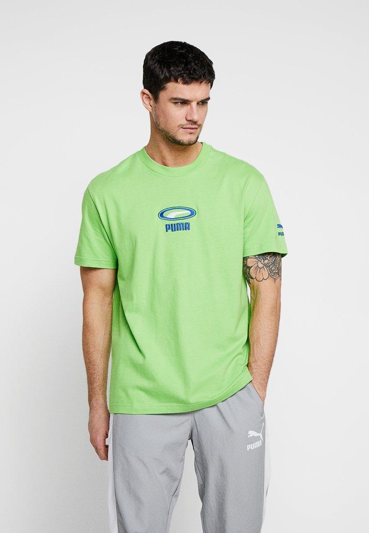 Puma - TEE CELL - Camiseta estampada - jasmine green