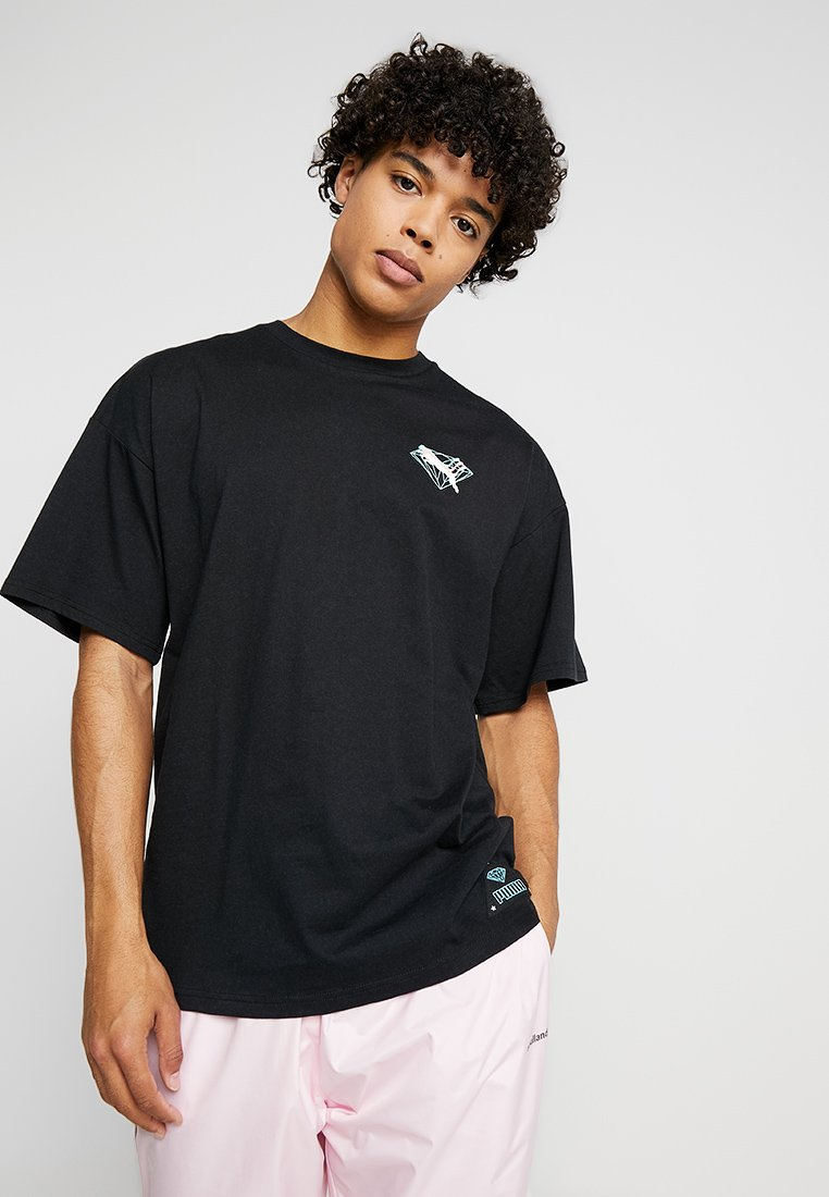Puma - DIAMOND SUPPLY X PUMA - T-Shirt print - black