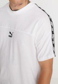 Puma - TEE - Camiseta estampada - white - 4