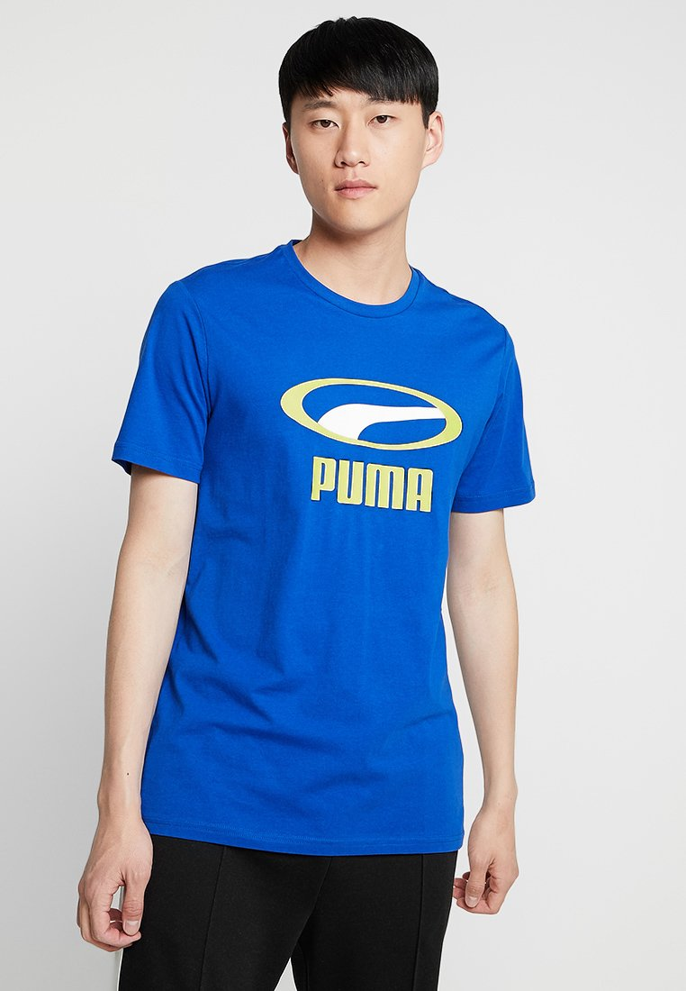 Puma - GRAPHIC TEE - T-shirt med print - surf the web
