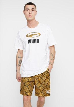 SNAKE PACK TEE - T-shirt imprimé - white