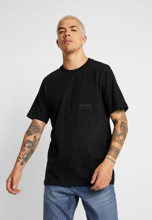 HEAVY CLASSICS TEE - Camiseta básica - black