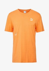 Puma - TRAIL GRAPHIC TEE - Camiseta estampada - jaffa orange - 3