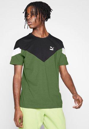 ICONIC TEE - T-shirt imprimé - dark olive