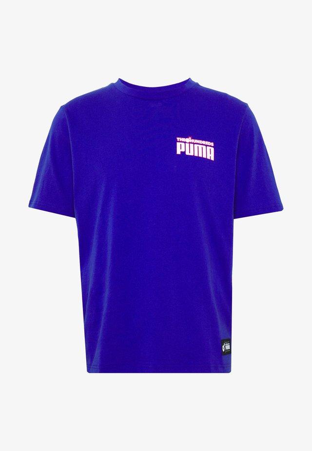 T-Shirt print - royal blue